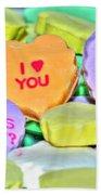 04 Valentines Series Beach Towel