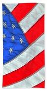 05 American Flag Beach Towel