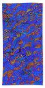 0539 Abstract Thought Beach Towel