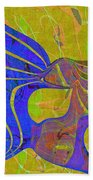 0565 Abstract Thought Beach Towel