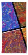 0580 Abstract Thought Beach Towel