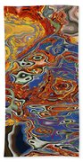 0615 Abstract Thought Beach Towel
