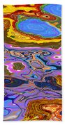 0620 Abstract Thought Beach Towel