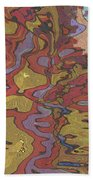0637 Abstract Thought Beach Towel