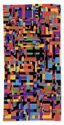 0649 Abstract Thought Beach Towel