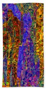 0666 Abstract Thought Beach Towel