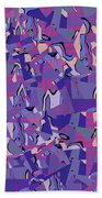 0667 Abstract Thought Beach Towel