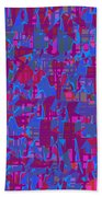 0671 Abstract Thought Beach Towel