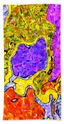 0673 Abstract Thought Beach Towel