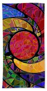 0677 Abstract Thought Beach Towel