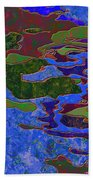 0681 Abstract Thought Beach Towel