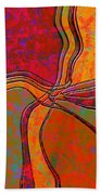 0683 Abstract Thought Beach Towel