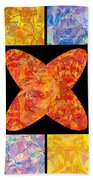 0690 Abstract Thought Beach Towel