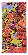 0693 Abstract Thought Beach Towel