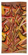 0695 Abstract Thought Beach Towel