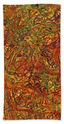 0700 Abstract Thought Beach Towel