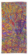 0705 Abstract Thought Beach Towel