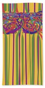 0706 Abstract Thought Beach Towel