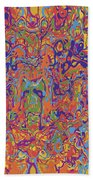 0707 Abstract Thought Beach Towel