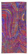 0708 Abstract Thought Beach Towel