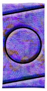 0711 Abstract Thought Beach Towel
