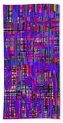 0714 Abstract Thought Beach Towel