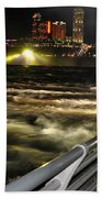 012 Niagara Falls Usa Rapids Series Beach Towel