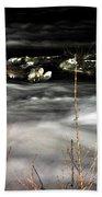 06 Niagara Falls Usa Rapids Series Beach Towel