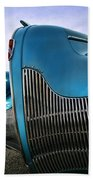 1939 Buick Eight Beach Towel