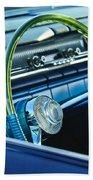 1961 Pontiac Catalina Steering Wheel Beach Towel