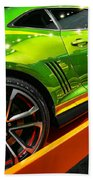 2012 Chevy Camaro Hot Wheels Concept Beach Towel by Gordon Dean II