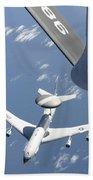 A U.s. Air Force E-3 Sentry Airborne Beach Towel