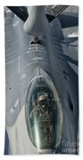 A U.s. Air Force F-16c Fighting Falcon Beach Towel by Giovanni Colla