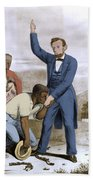 Abraham Lincoln, 16th American President Beach Sheet