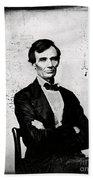 Abraham Lincoln, 16th American President Beach Towel