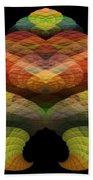 Abstract 201 Beach Towel