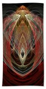 Abstract Eighty Beach Towel