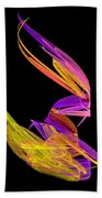 Abstract Fifty-four Beach Towel