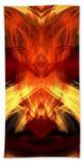 Abstract Five Beach Towel