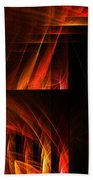 Abstract Forty-seven Beach Towel