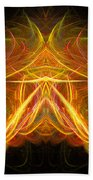 Abstract Ninety-eight Beach Towel
