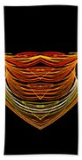Abstract Ninety-two Beach Towel