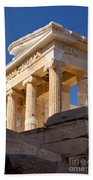 Acropolis Temple Beach Towel by Brian Jannsen