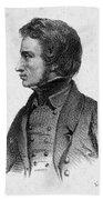 Adam Mickiewicz (1798-1855) Beach Towel