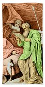 Alexander The Great And His Physician Beach Towel