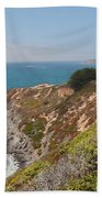 Along Big Sur Beach Towel