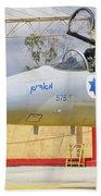 An F-15c Eagle Baz Aircraft Beach Towel