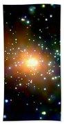 Andromeda Galaxy Beach Towel