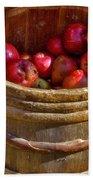 Apple Harvest Beach Towel