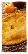 Apple Pie Beach Towel